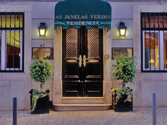 Hotel Boutique as Janelas Verdes - Lisboa -Portugal