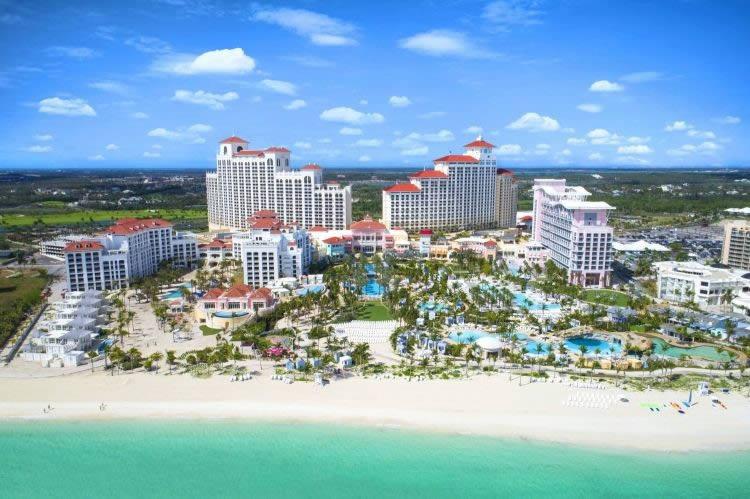 Resorts das Bahamas, são reconhecidos entre os melhores resorts do Atlântico